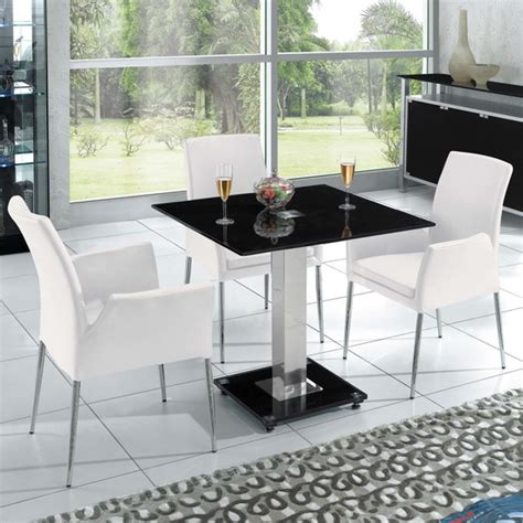 black square dining room table square ice black dining table only dining tables glass