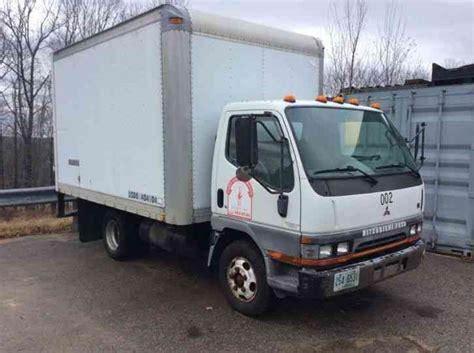 mitsubishi fe639 box truck 2000 box trucks