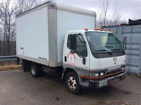 mitsubishi fuso box truck mitsubishi fe639 box truck 2000 box trucks