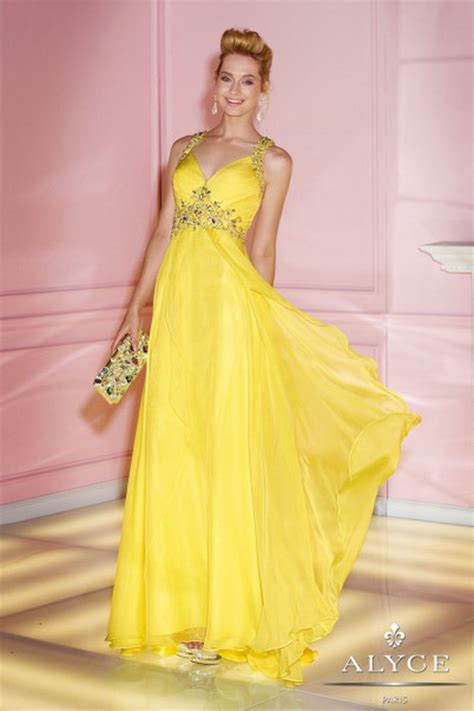 Bright Formal Dresses - bright colored homecoming dresses