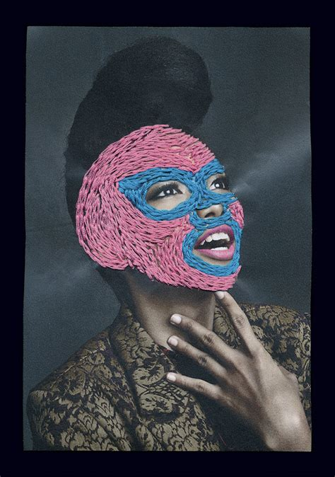 hand stitched photographs  art director rebecca chew