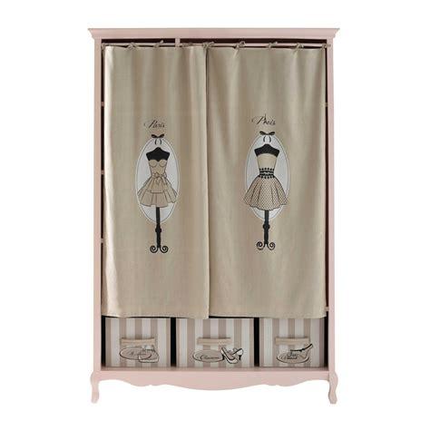 kleiderschrank 130 cm kleiderschrank aus holz b 130 cm rosa mode