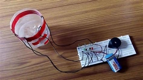 how to make an inductor at home how to make water level inductor simple way at home made water level inductor project