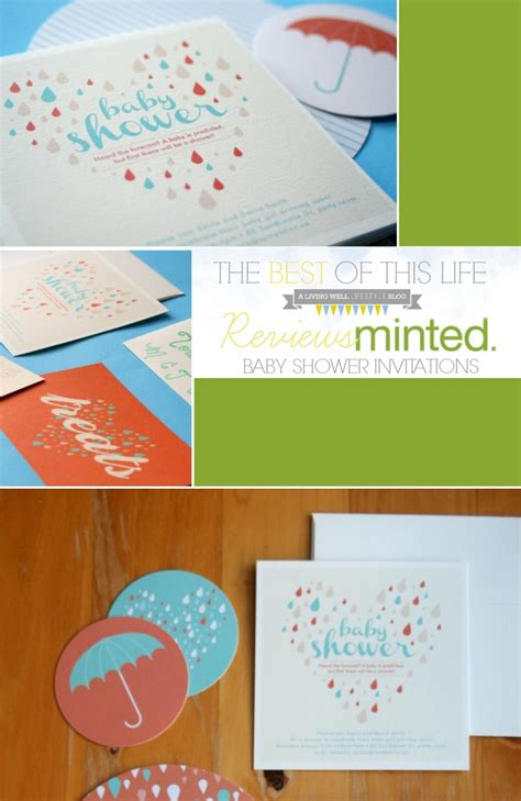 Minted Baby Shower Invitations by Baby Shower Invitations By Minted The Best Of This