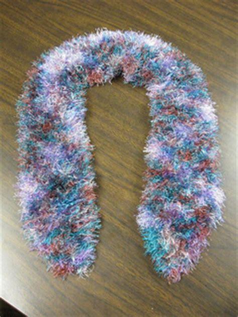 scarf pattern novelty yarn ravelry one skein novelty yarn scarf pattern by dez crawford