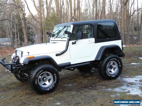 Jeep Wrangler Sport Used For Sale 1988 Jeep Wrangler For Sale In The United States