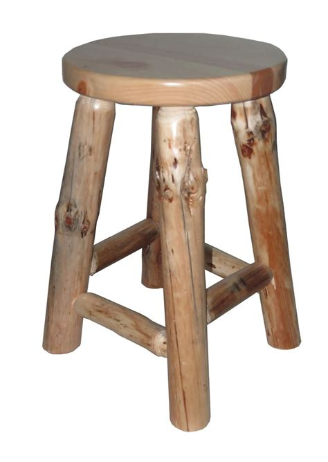 Cedar Log Bar Stools by 1000 Images About Rustic Bar Stools Pub Tables On