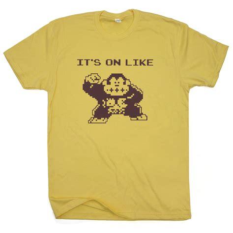 T Shirt Gamers it s on like kong t shirt gamer shirts