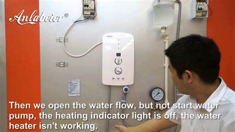 Kran Untuk Water Heater electric water heater built in booster for low pressure area