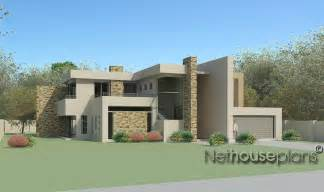 4 room house 4 bedroom modern style house plan m474d