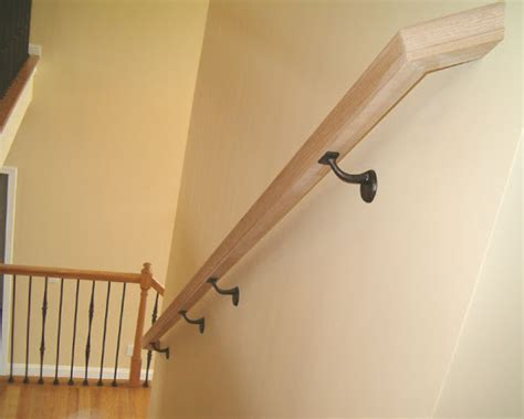 how to attach banister to wall handrail off dry wall doityourself com community forums