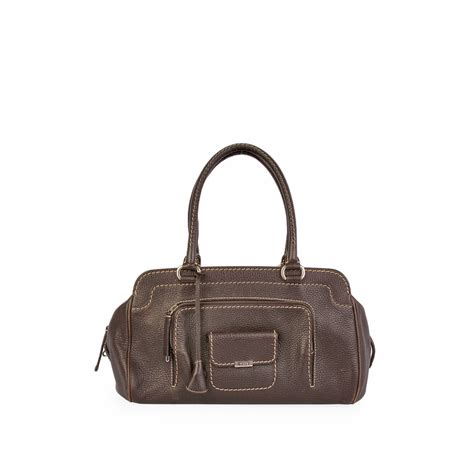 Tods Media Bag by Tod S Kate Easy Media Giorno Bag Brown Luxity