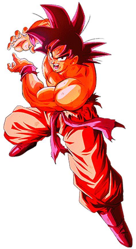 Imagenes De Goku Super Kaioken | goku kaioken kamehameha by alexelz on deviantart