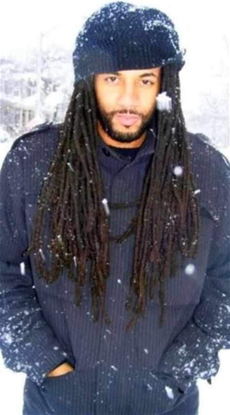 cool rasta braids male in snow with cool locs dreads dreadlocks locs
