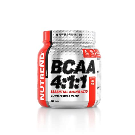 l supplements amino acids bcaa bcaa 4 1 1 tabs nutrend supplements