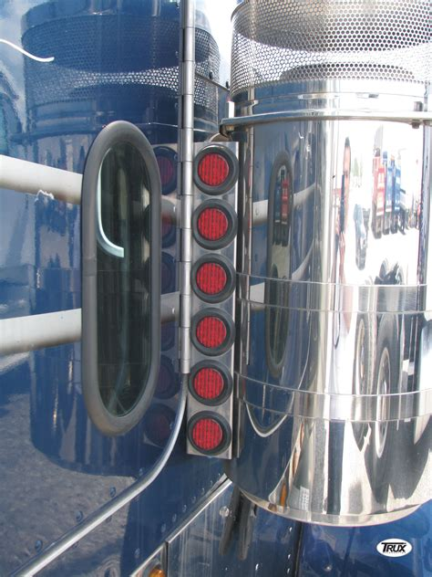 peterbilt air cleaner lights outlaw customs