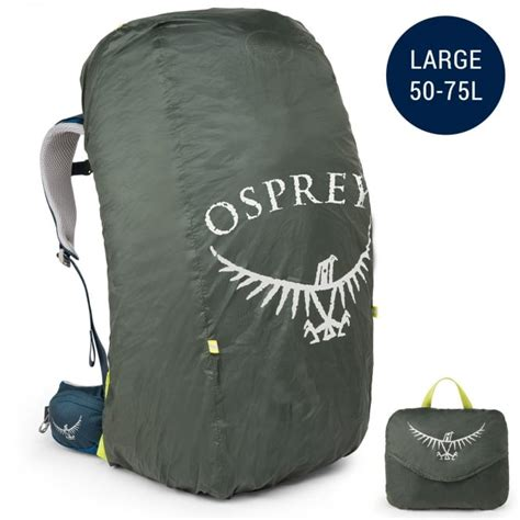 Raincover Cover Bag Osprey Shadow Size L 50 75l osprey rucksack ultralight raincover large 50 75l packs bags from open air cambridge uk