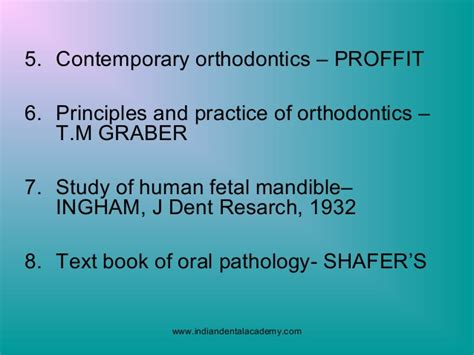 Cd E Book Orthodontics Principles And Practice Dental Update prenatal and postnatal development of mandible certified fixed ortho