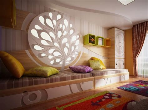 Child Bedroom Light Colorful Bedroom Design Featuring Light Decorative Objects By Neopolis Home Building