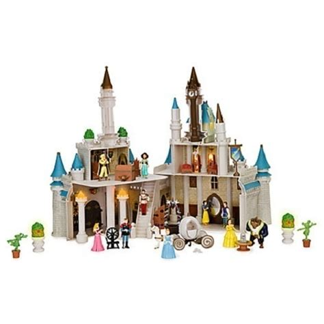 disney princess castle doll house disney cinderella castle dollhouse princess playset with figures