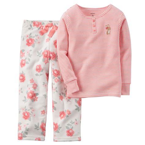 Jencalsa Flowery Comfy Sleepwear Set s flower print 2 knit fleece