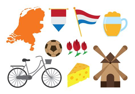 netherlands map icon netherlands icons vector free vector stock