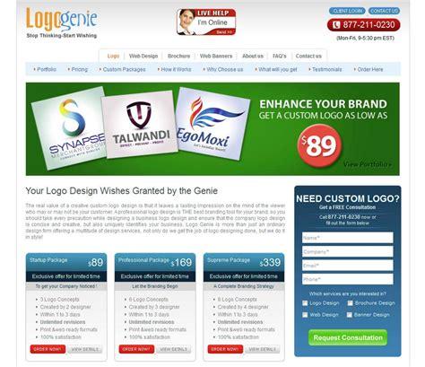 logo genie reviews logo genie banner ad design reviews ratings and info