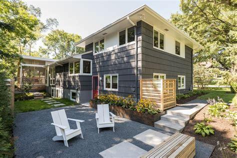 best 20 split level exterior ideas on split split level home remodeling home remodel home split