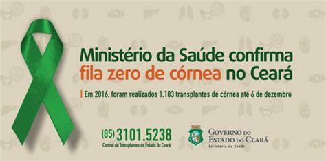 Fila Zero Promo cear 225 zera fila para transplantes de c 243 rnea
