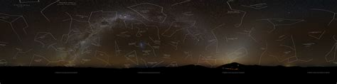 paranal zodiacal light and way
