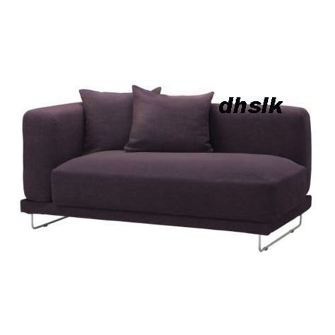sofa arm covers ikea ikea tylosand 2 seat 1 arm sofa cover rephult purple