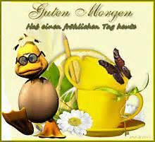 guten morgen ente 2 gelbe tassen