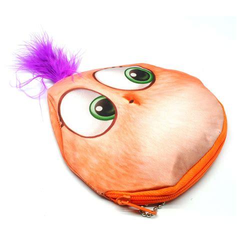 Dompet Kain dompet koin kain model kartun orange jakartanotebook