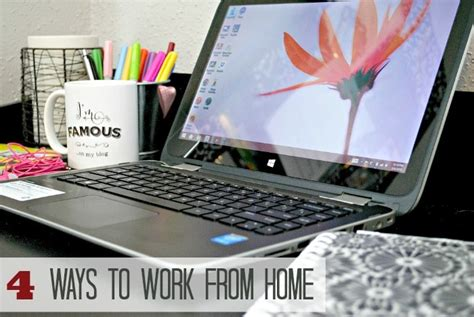 4 ways to work from home inspired by the hp x360