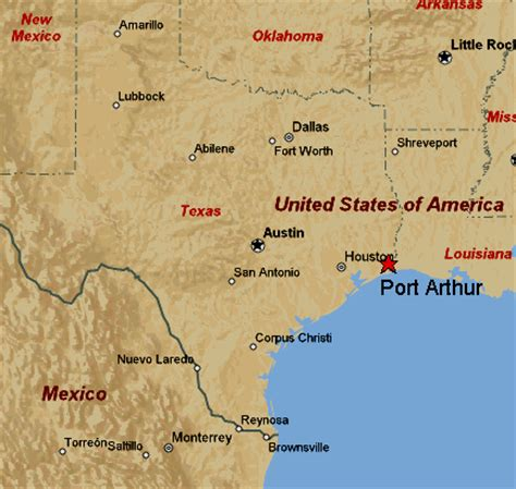 port arthur texas map us shale gas pushes qatar petroleum and sabic to go global
