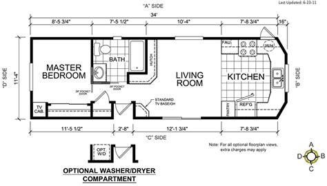 breckenridge park model floor plans park model home floor plans
