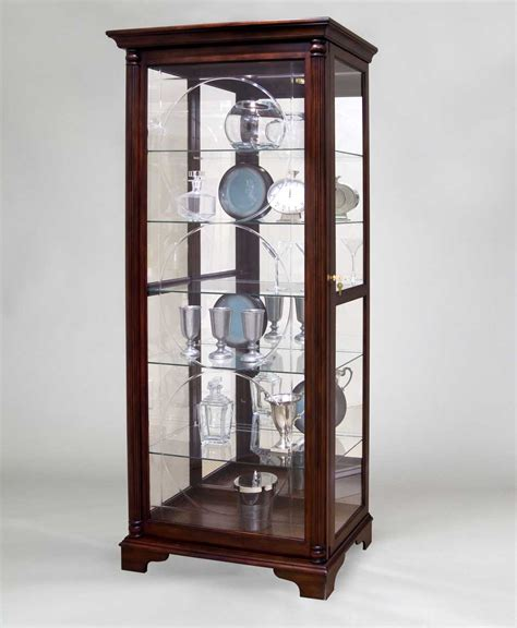 curio cabinet pulaski curio cabinets for home office