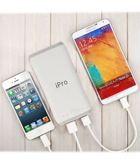 Powerbank Ubox ipro 20800mah powerbank for smartphones and tablets power banks at low prices
