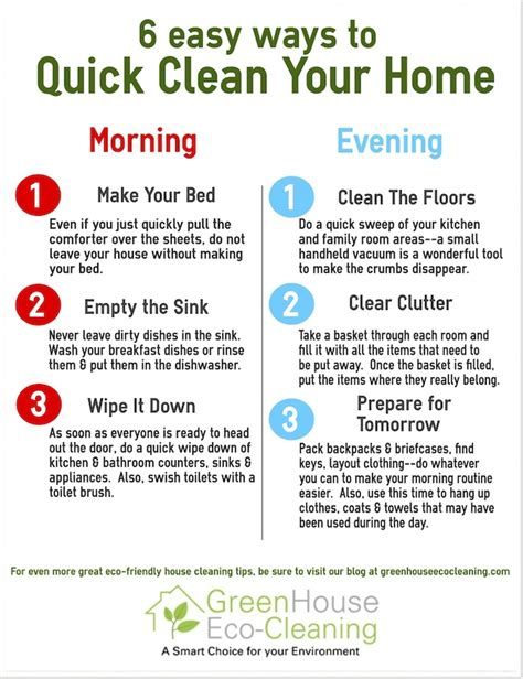 keeping your house clean daily cleaning schedule tips 6 daily cleaning routine musts