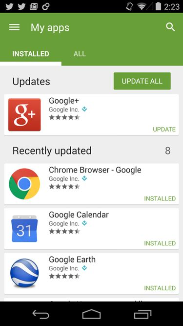 android how to update apps how to turn automatic app updates on android and install apps manually pcworld