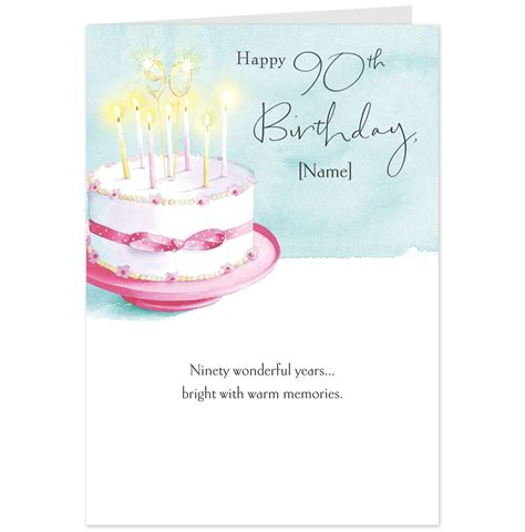 90th Birthday Cards Hallmark Cards Greetings Cards And Gifts