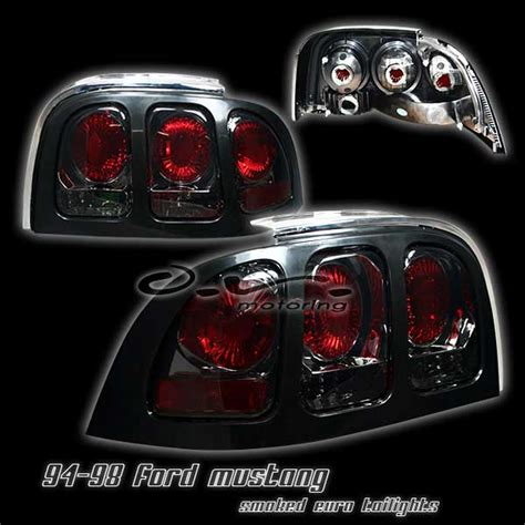 Ripcurl A2860 Recon Silver Combi Black 1994 1998 combo mustang headlights 1pc angle eye led projector black pair taillights 2