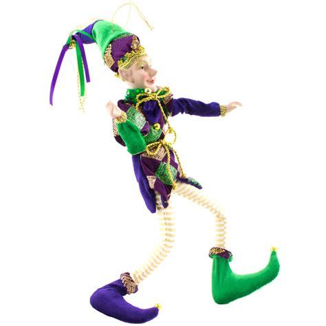 black doll ornament 18 quot harlequin jester doll ornament ct947