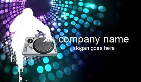 Dj Card Design dj business cards disc jockey business cards