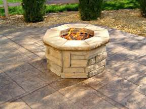 outdoor pits outdoor how to create outdoor gas pits glass