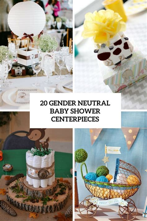 Gender Neutral Baby Shower Decorations by 20 Gender Neutral Baby Shower Centerpieces Shelterness