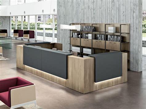 modular office reception desk   quadrifoglio