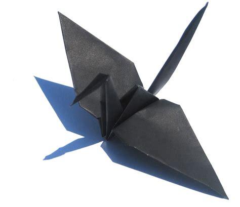 The Origami Paper Shop - black origami cranes graceincrease custom origami