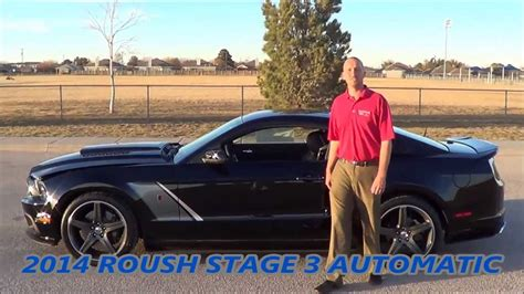 roush stage  black automatic  rogers ford  midland texas   youtube