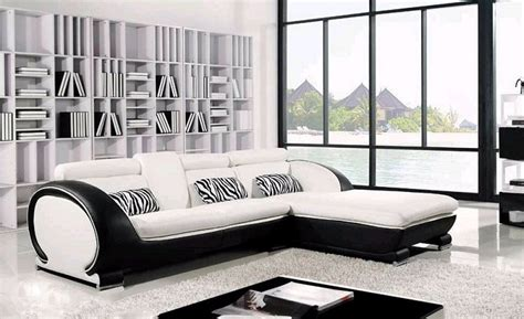 modern sofa for small living room modern leather sectional for small space 02 small